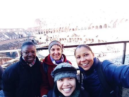 Rencontre a Rome des Petites soeurs de l'Assomption sur l'interculturalité