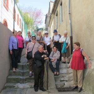 un groupe international des ANDAS à l'Enclos Rey
