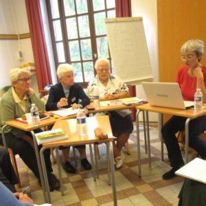 groupe de reflexion à l'assemblee territoire France Belgique