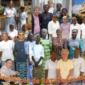 soeurs participantes à l'assemblée Afrique-Madagascar