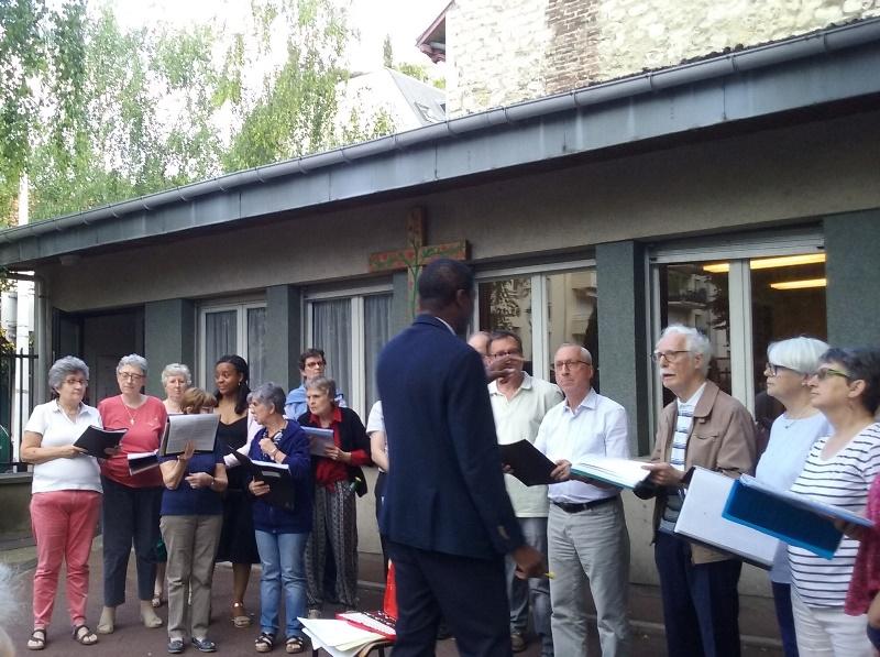 Chorale Aleluia de la Paroisse de St.Jacques à Montrouge