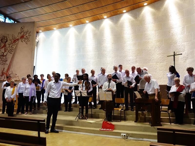 chorale de la Paroisse St.Jacques de Montrouge